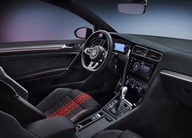 高尔夫GTI TCR概念车官图 采用高性能套件