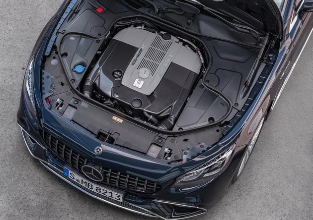 AMG S 63轿跑6月1日国内首发 搭4.0T V8/配四驱