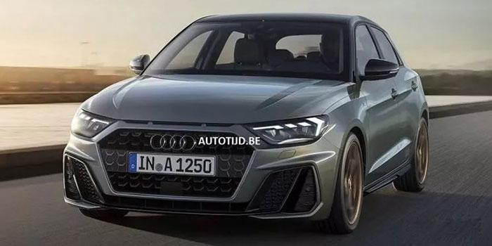 全新一代奥迪A1领衔 海外最新曝光新车预览
