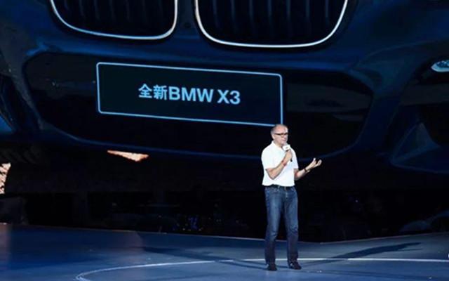 华晨宝马魏岚德:全新X3要做中型豪华SUV领导者
