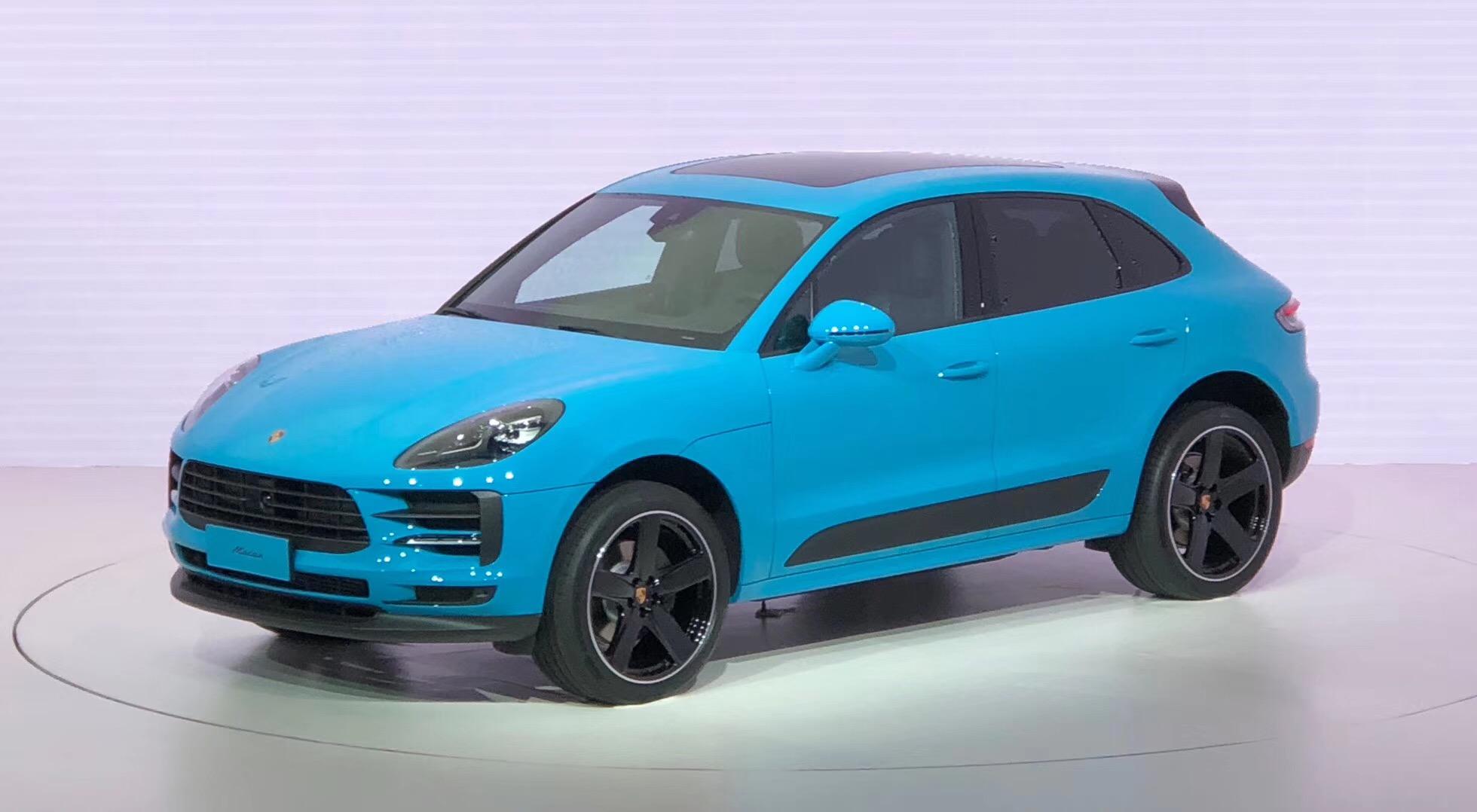 更换11寸中控大屏 保时捷Macan改款车型于上海全球首发
