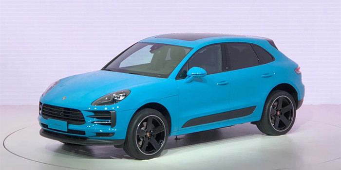 Macan改款车型上海全球首发 起售价55.8万元