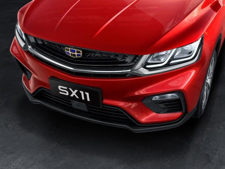 吉利SX11官图公布 肩负拓展海外市场的重任
