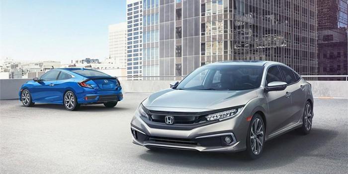新增2.0L运动版车型 新款本田Civic官图发布