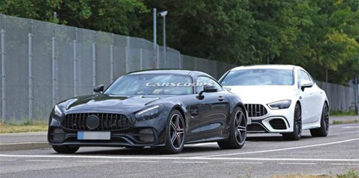 梅赛德斯-AMG GT谍照曝光 2020年正式上市