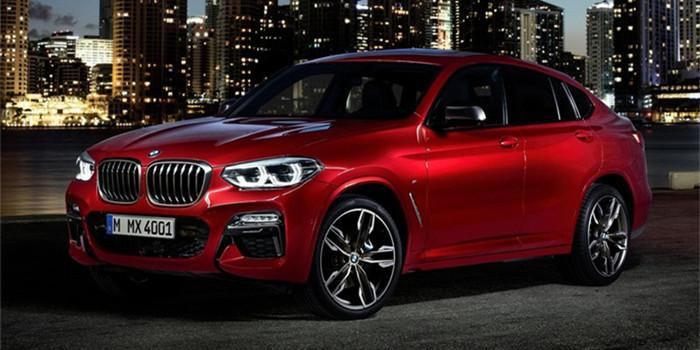 BMW X4 M40d (2019)