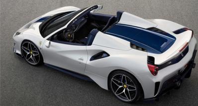 Ferrari 488 Pista Spider (2019)