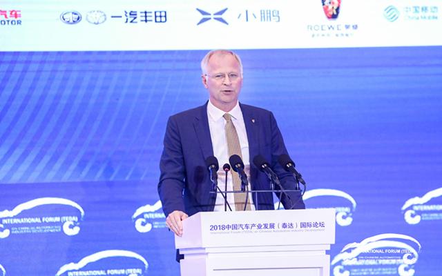 保时捷严博禹:2020年向中国市场推电动车Taycan