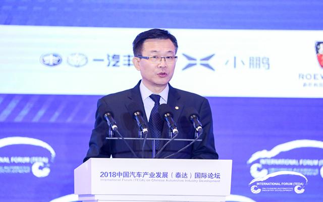 东风汽车安铁成:汽车行业迈入了高质量发展的新征程