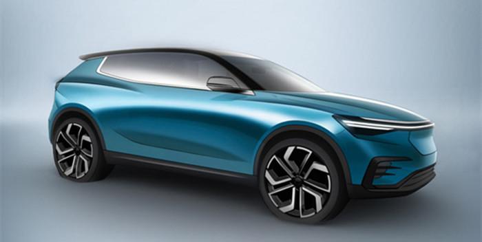 电咖ENOVATE首款车设计图曝光 明年下半年上市