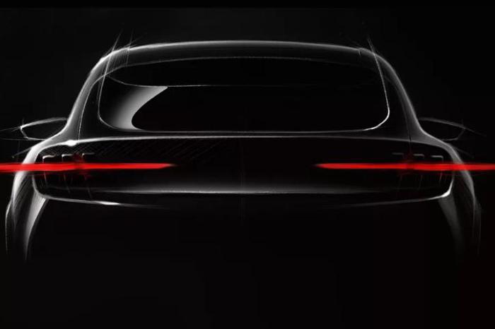 福特Mach 1效果图曝光 设计灵感源自于Mustang