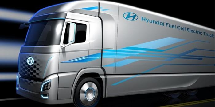 现代推出氢燃料卡车 预计2019年实施量产