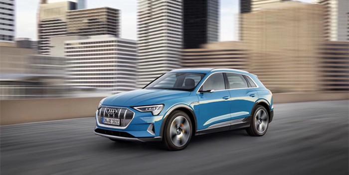 奥迪e-tron纯电动SUV首发 将于明年引入国内销售