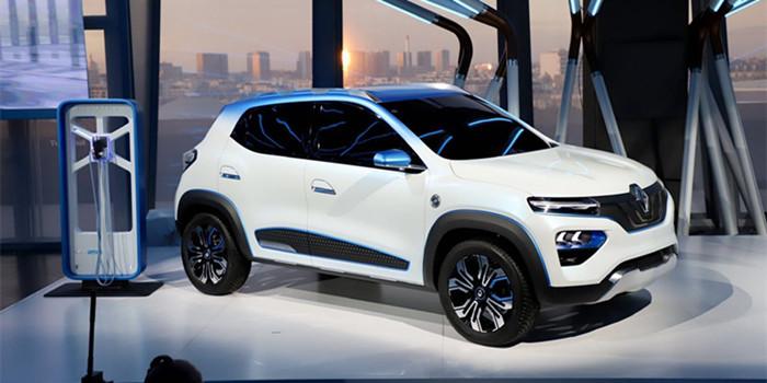 雷诺K-ZE电动SUV巴黎首发 明年在中国国产