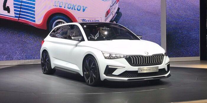 斯柯达概念车亮相巴黎车展 排量只有1.5?