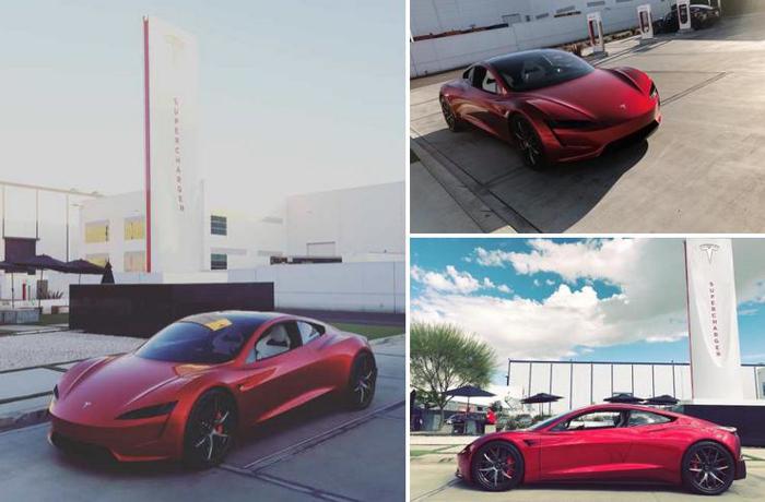 电动汽车,黑科技,前瞻技术,热点车型,特斯拉Roadster,特斯拉Roadster订金,特斯拉Roadster照片曝光