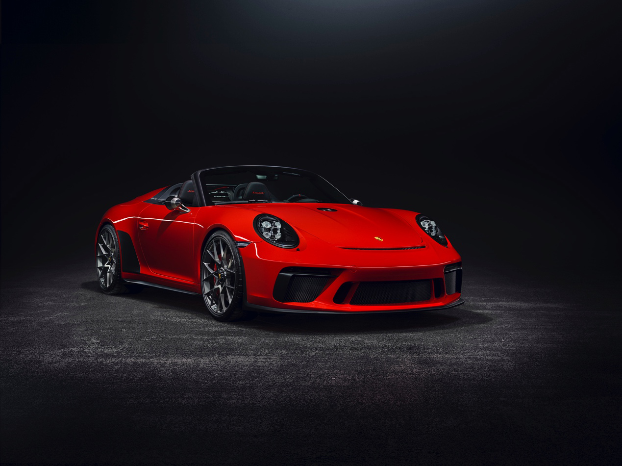 保时捷 911 Speedster将于明年量产