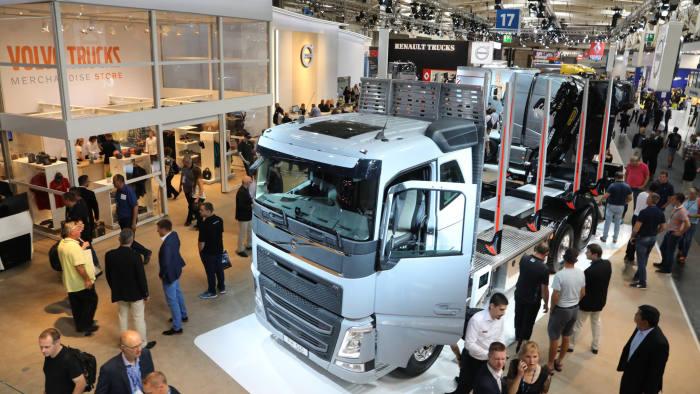 沃尔沃卡车部件存缺陷或被迫大量召回 集团股价下跌6%