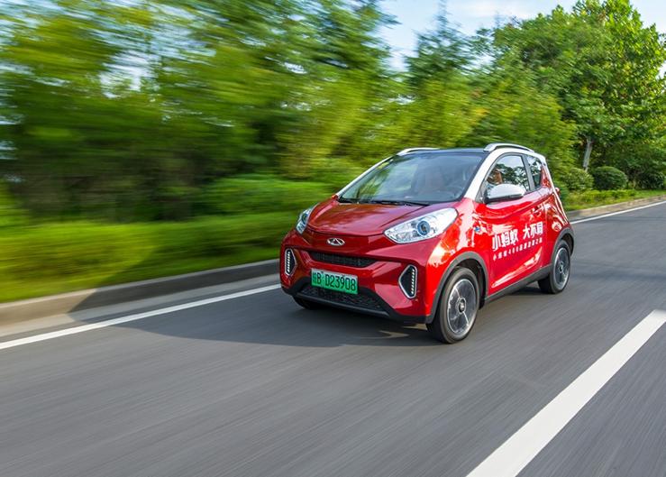 奇瑞电动车10月销量过万 同比增长379.1%