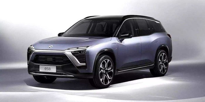 综合续航355公里 蔚来ES8基准版广州车展首发