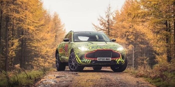 """阿斯顿马丁首款SUV定名""""DBX"""" 将于明年量产"""