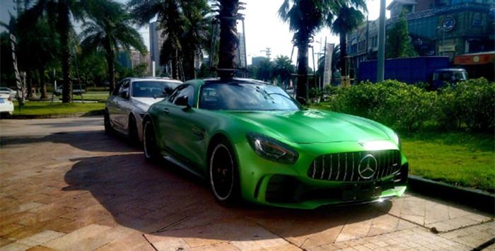 绿魔——梅赛德斯AMG GT R