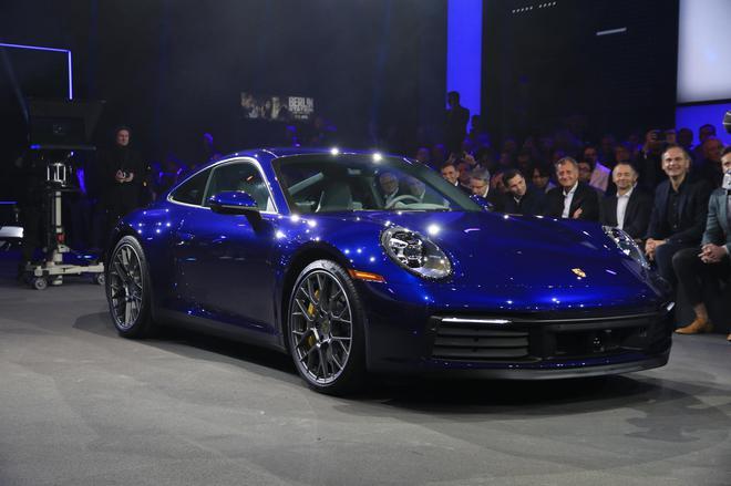 全新一代保时捷911正式发布 代号992/升级8速变速器