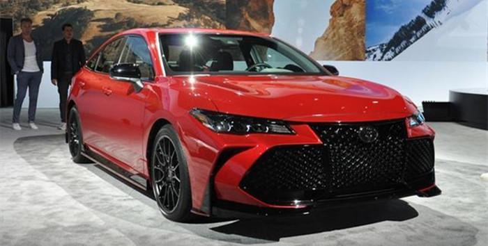 搭配运动套件 亚洲龙TRD版车型亮相北美车展