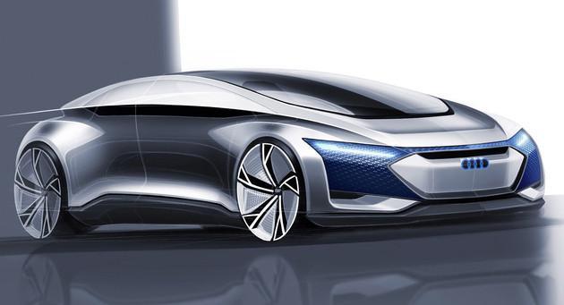 奥迪将推紧凑两厢e-tron车型 MEB平台打造/或日内瓦车展发布