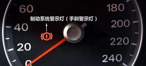车上最重要的灯 一旦亮起立马停车