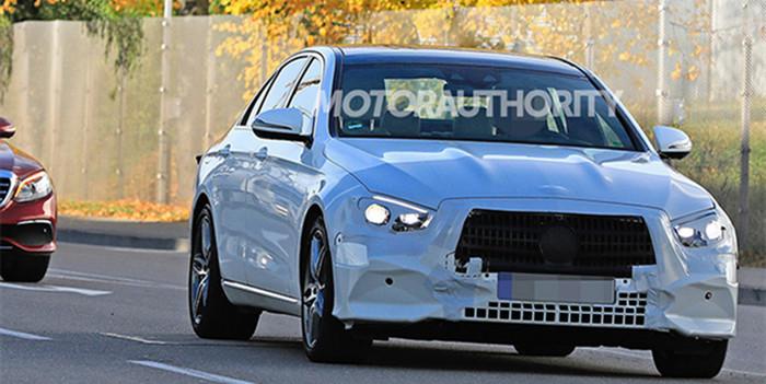 奔驰E级中期改款车型谍照曝光 预计2019年上市