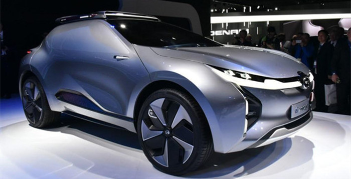 广汽传祺ENTRANZE概念车 北美车展将首发