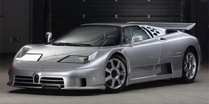 布加迪Bugatti EB110 SS