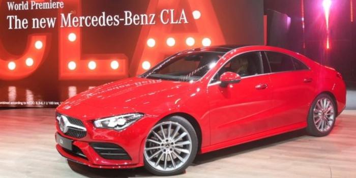 全新一代奔驰CLA全球首发 高级感进一步提升