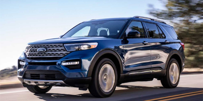 全新福特中大型SUV探险者官图发布 年内引入国产