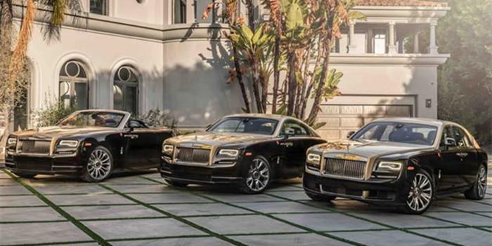为中国买主定制 劳斯莱斯推4款猪年限量版车型