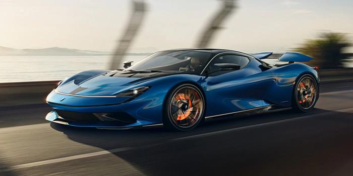 宾尼法利纳发布全新纯电动超跑Battista