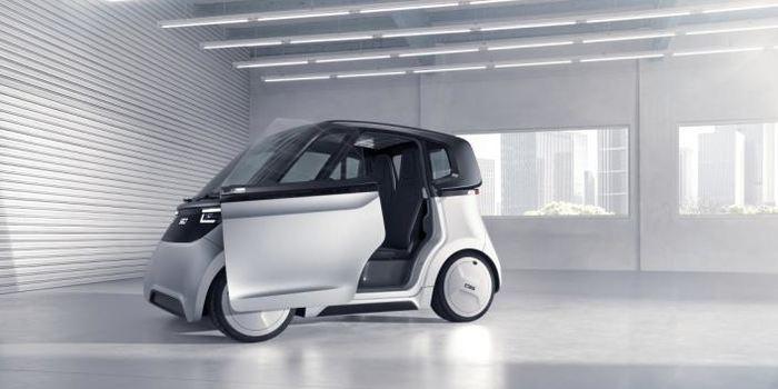 德国亚琛Share2Drive旗下SVEN纯电动概念车官图发布