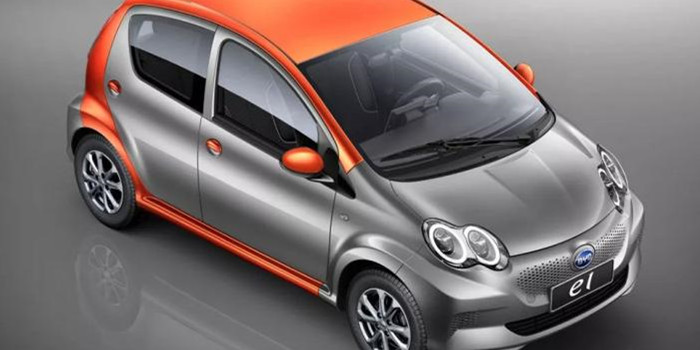 最大功率45kW 比亚迪e1将在上海车展发布