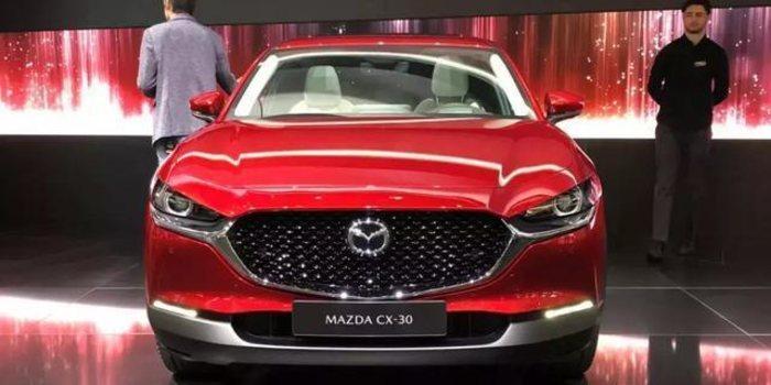 搭载轻混技术 全新马自达CX-30正式发布
