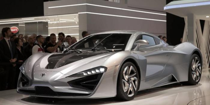 北汽新能源ARCFOX三款概念车亮相日内瓦车展