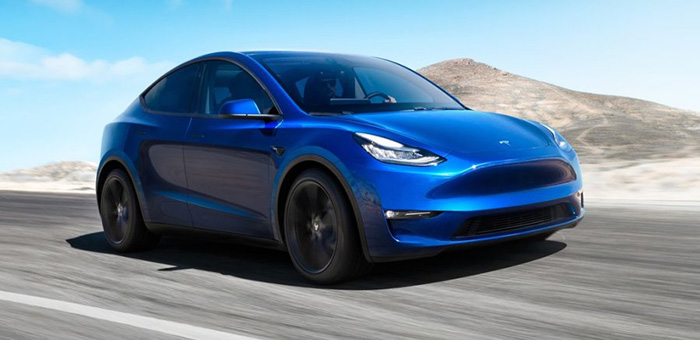 特斯拉Model Y发布 2020年上市/售26.2万元起