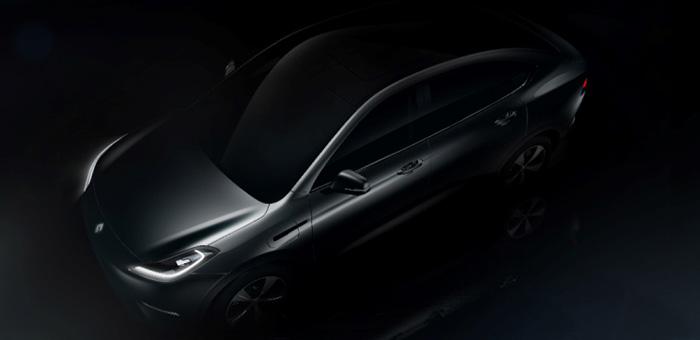 上海车展亮相 博郡首款车型造型图发布