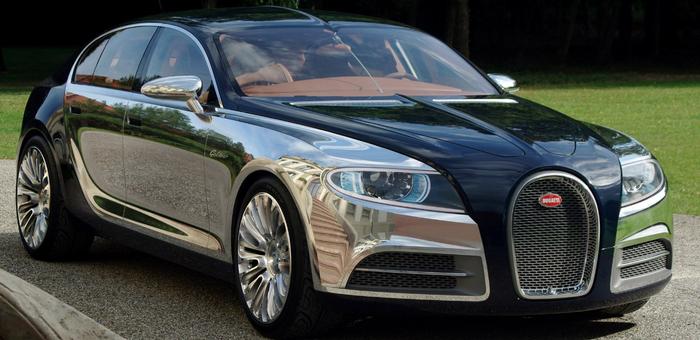 布加迪将推最贵电动车 新车售价超70万欧元