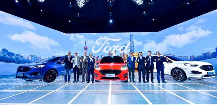 福特携四款首发车登陆车展 满足细分市场需求