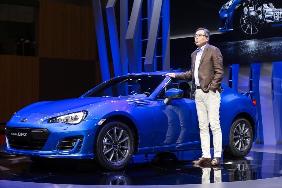 斯巴鲁多款新车亮相上海车展 新款BRZ发布
