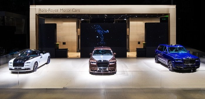劳斯莱斯携三款重磅车型亮相上海国际车展