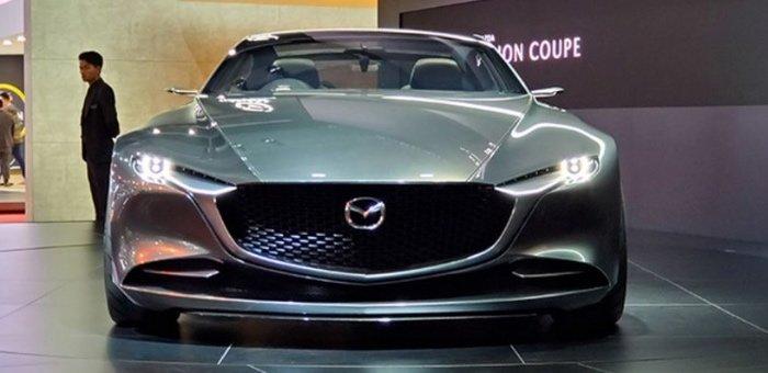 """马自达携""""VISION COUPE""""亮相上海国际车展"""