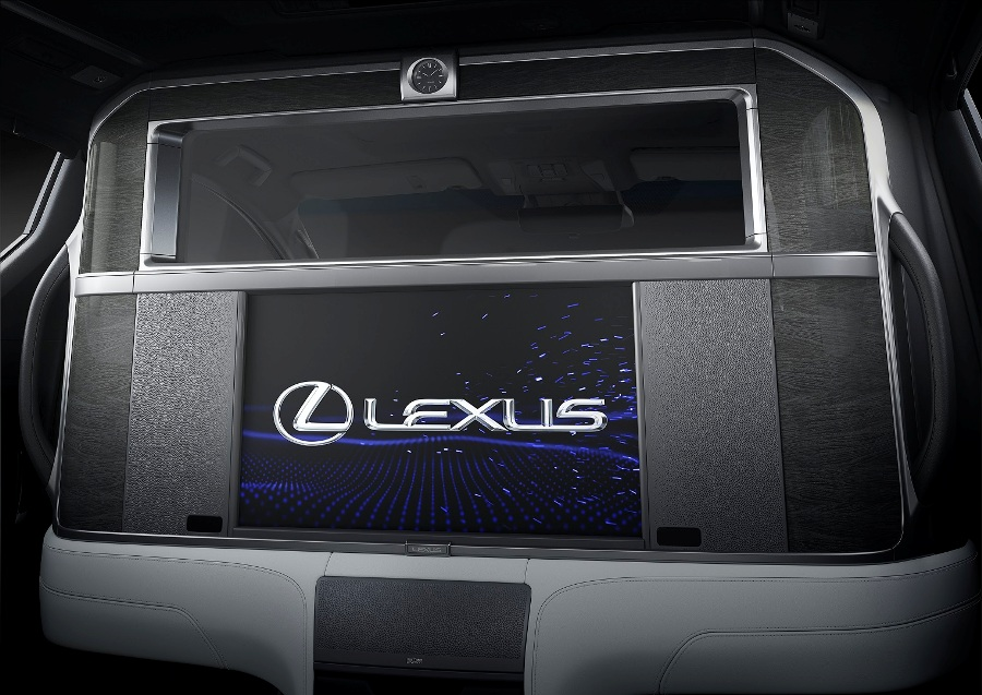 14 全新雷克萨斯LM 屏窗透明