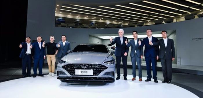 第十代索纳塔领衔 北京现代4款新车亮相车展
